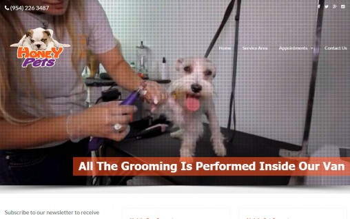 Mobile Pet Grooming – Davie, Florida