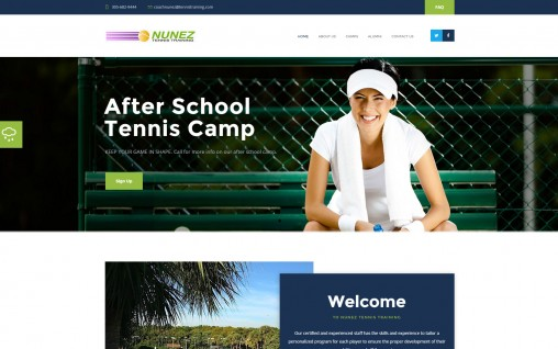 Tennis Training – Aventura, Florida